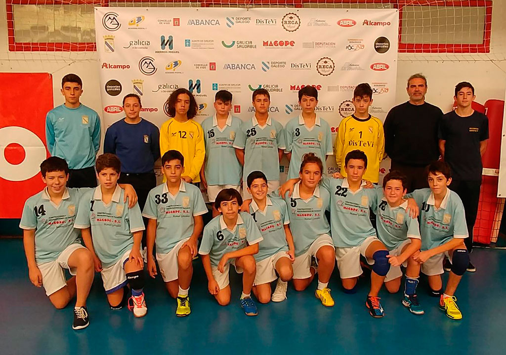 Seis do Nadal Infantil Masculino 17-18 Balonmano